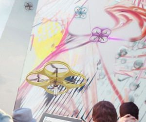 Carlo Ratti Unveils Paint by Drone