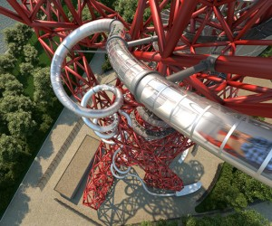Carsten Hollers Olympic Orbit Slide set to open in June