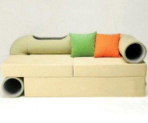 Cat Tunnel Sofa: Smart Pet Lounge