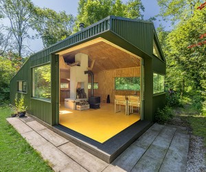 CC-Studio Rebuilt Thoreau Cabin into the Netherlands Noorderpark