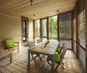 Cedar Wood Cabin Design