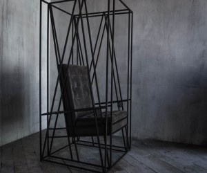 Chair No.8 by volume in the void