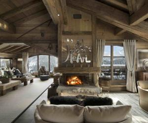 Chalet Pearl with Jaw-Dropping Mountain views
