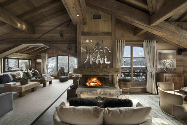 Chalet pearl with jaw dropping mountain views - Illuminazione casa montagna ...
