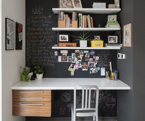 Chalkboard Paint Ideas to Transform the Modern Home Office