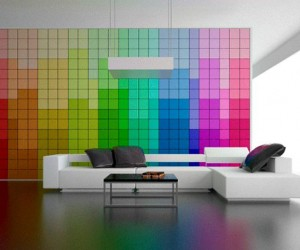 Change It: The Multicolor Wall