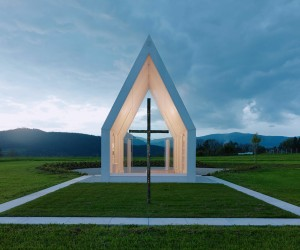 Chapel Maria Magdalena by Sacher Locicero architects