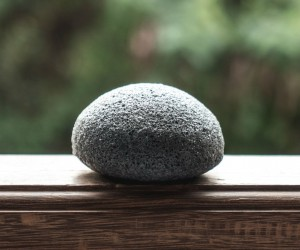 Charcoal and Konjac Facial Sponge