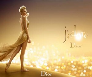 Charlize Theron Is A Golden Girl In New JAdore Dior Campaign