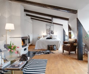 Charming attic-studio in Gothenburg