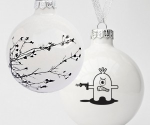 Charming Handcrafted Ceramic Christmas Ornaments