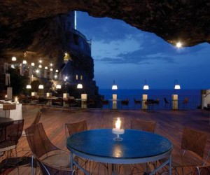Charming Sea Cave Restaurant in Southern Italy
