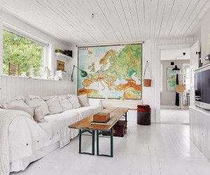 Charming shabby chic home in Sweden