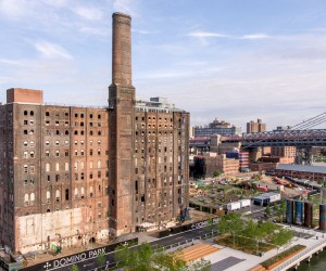 Check Out the Domino Sugar Factory Park After Completion