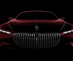 Check Out the First Look at the Monstrous New Mercedes-Maybach 6
