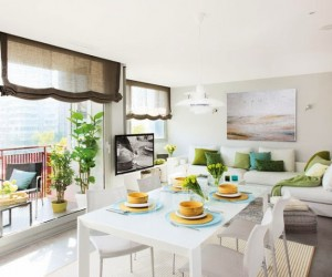 Cheerful and bright apartment in Barcelona