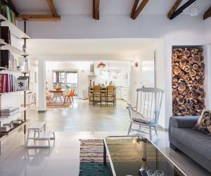 Cheerful Modern Renovation Transforms 50s Israeli Residence