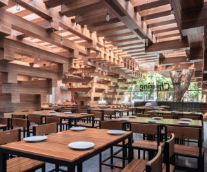 Cheering Restaurant in Hanoi by HP Architects