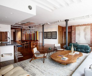 Chelsea Loft Apartment by Omas:Works and Jarlath Mellette