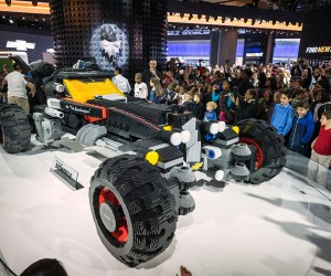 Chevrolet unveils Life-Sized Lego Batmobile