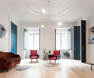 Chiado Apartment by fala atelier, Lisbon