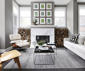 Chic and Modern Apartment Interiors in Chicago