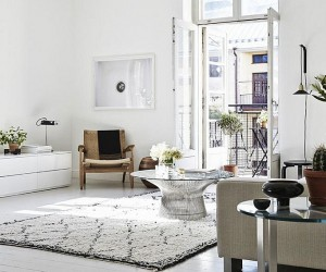 Chic Helsinki Apartment Displays Scandinavian Design at its Serene Best