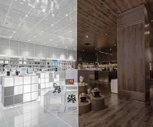 ChicBus Alipay Flagship Store by LYCS Architecture
