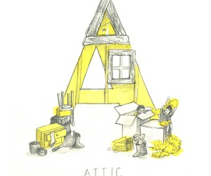 Childrens Illustrated Alphabet by Hannah Williams