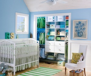Childs Reach-In Closet