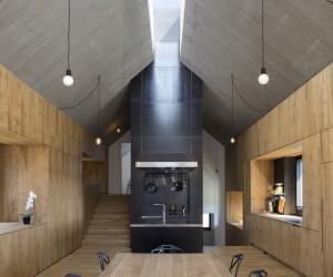 Chimney House by Dekleva Gregori Arhitekti