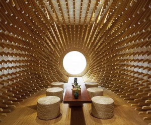 Chinese Teahouse By Minax Architects