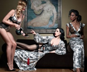 Christian Louboutin And Dita Von Teese Team Up On A Lingerie Line