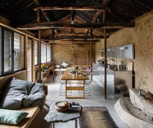 Christian Taeuberts Studio Cottage in Chinese Countryside