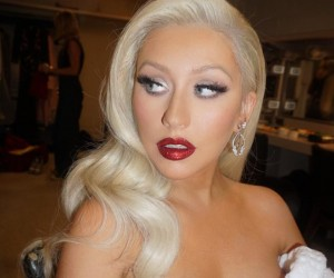 Christina Aguilera on Snapchat