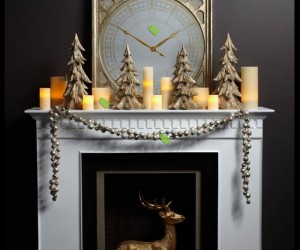 Christmas mantelpiece decorating ideas