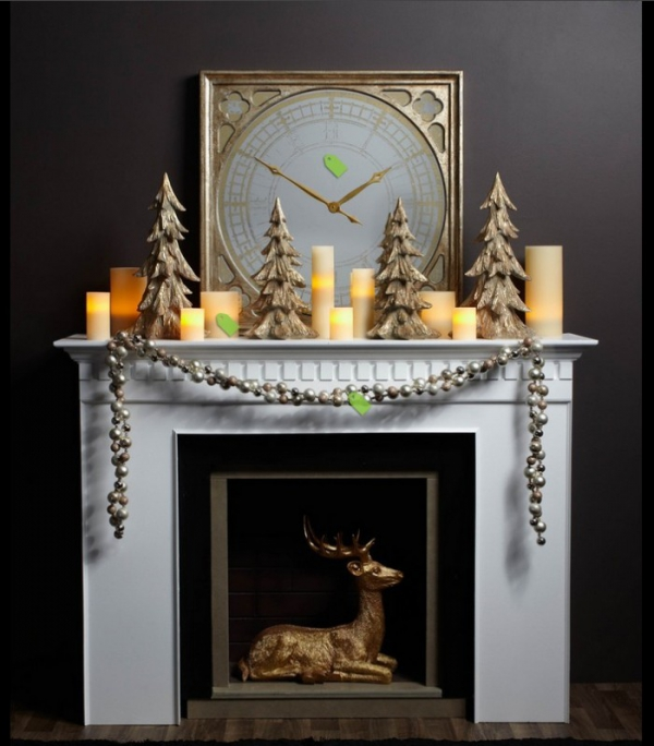 Christmas Mantelpiece Decorations Part - 42: Materialicious