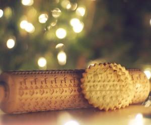 Christmas Pattern Rolling Pin