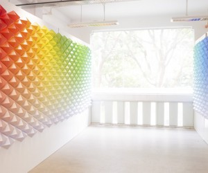 Chromaticity Installation by monocoque