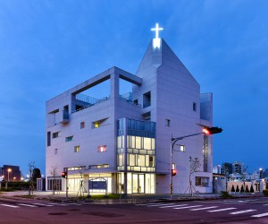 Church Located in Taichung City, Taiwan Designed by JYCArchitect  DCDAssociates