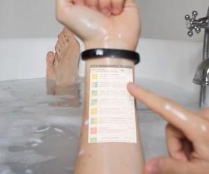 Cicret: Tablet Projector Bracelet