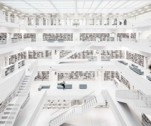 City Library Stuttgart: Spectacular Architecture Photography by Thomas Ebert