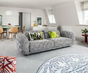 City Penthouse in Norwich, England by Jane Richards Interiors