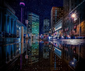 City Rainbow: Photo Reflections of Torontos Streets by Jessie Wald
