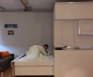CityHome: Gesture Controlled Hideaway Bed