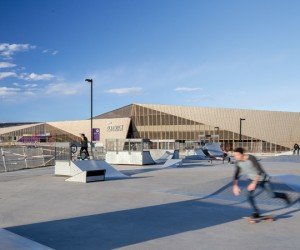 Clareview Rec Centre, Edmonton, Canada - by Stephen Teeple Architects