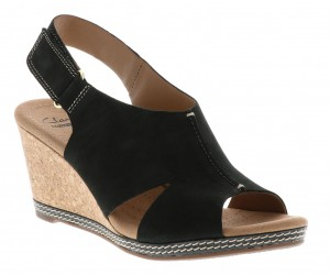 Clarks Womens Helio Float Wedge Sandal