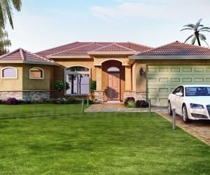 Classic 3D Exterior Home Design