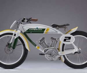 Classic E-Bike By Caterham Bikes