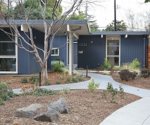 Classic Eichler Home in Palo Alto Remolded into a Chic Single-Family Residence